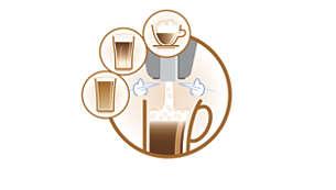 Systém automatického napěnění pro dokonale napěněné mléko