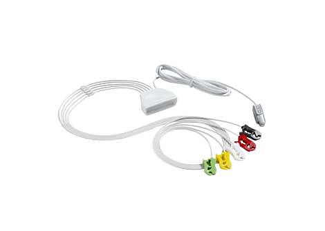 Patient Cable ECG 5 lead Grabber Telemetry Lead Set