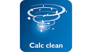 Calc-Clean-Taste für leichtes Entkalken Ihres Bügeleisens