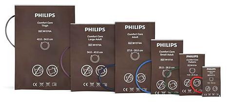 Komfort-Blutdruckmanschette für Erwachsene mit Extremitätenumfang 27-35cm wiederverwendbar, aus Polyurethan, latex- und PVC-frei
