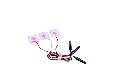 Preattached leadwire electrode ECG accessories