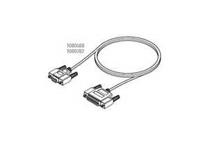 HIS / EMR DB9 to DB25 Modem Cable Assemb Serial communication cables