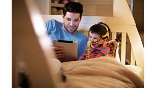 Leer, mirar televisión o usar gafas