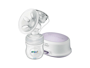 Comfort Single Electric Breast Pump Single breast expression