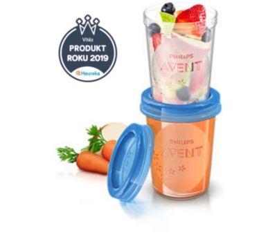 Levně Avent - Úložný pohárek na potraviny - SCF639/05