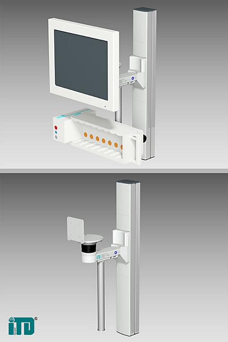 IntelliVue MP90 Flatscreen Mounting solution