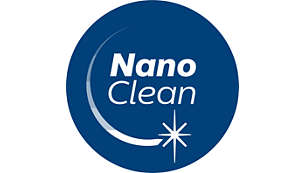 NanoClean Technology for mess-free dust disposal