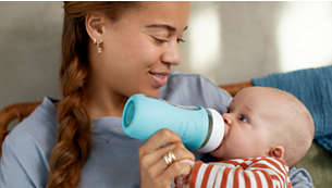 Silicone sleeve makes bottle easier to hold