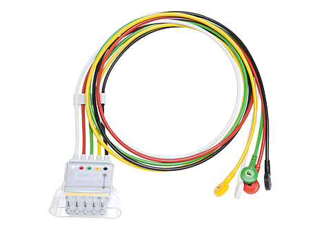 5 lead set Snap IEC Telemetry Lead Set