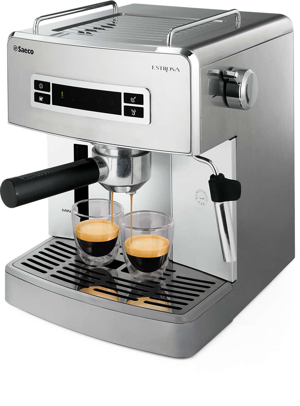 Moeiteloos handmatige espresso
