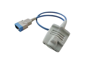 Reusable adult SpO₂ glove sensor with mid-point connector