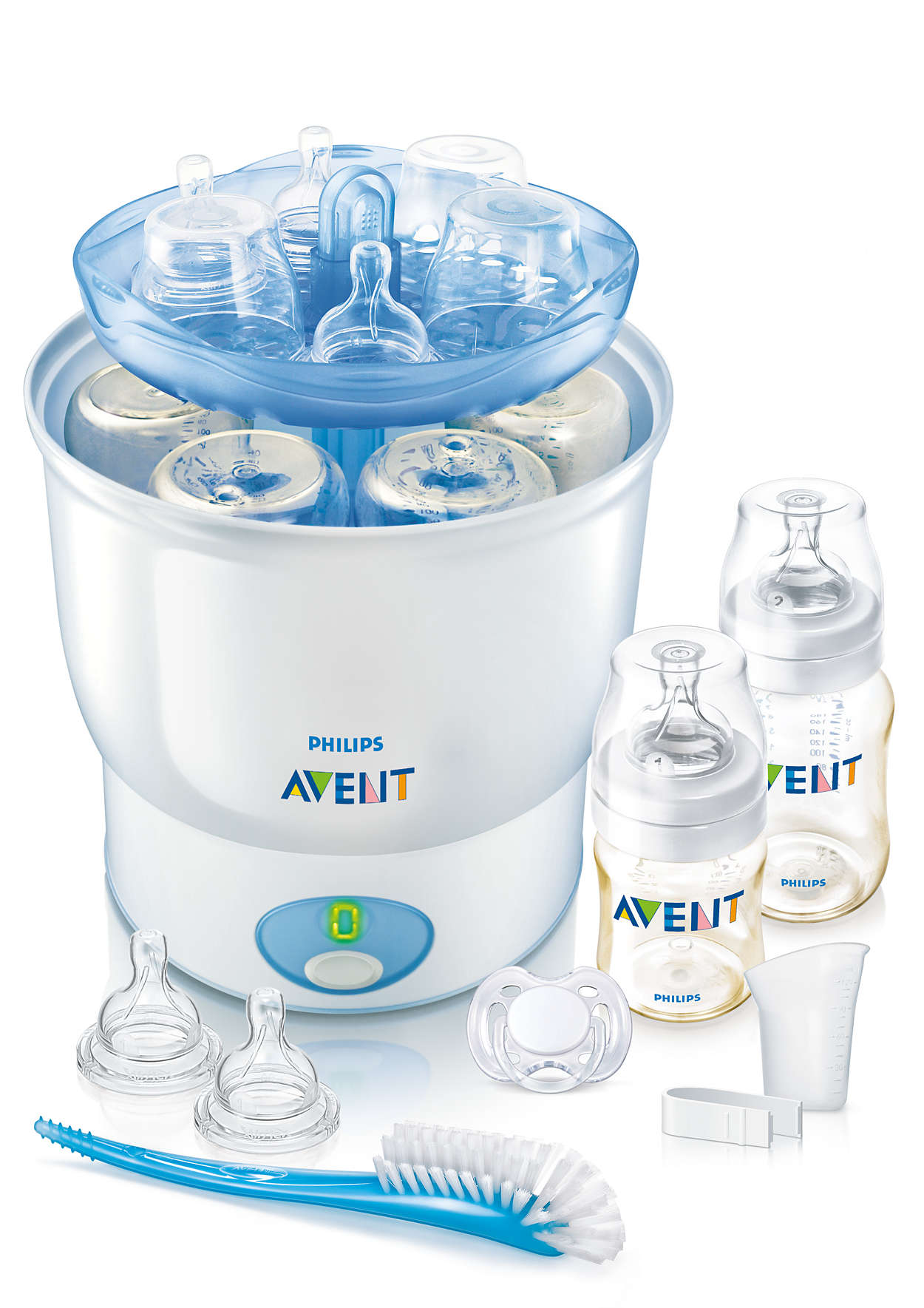 Keeps contents sterile night and day