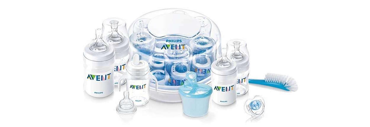 Feeding and sterilizing essentials