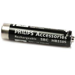 Batterie rechargeable pour casque sans fil