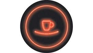 Onmiddellijk starten om met één druk op de knop het apparaat in te schakelen en koffie te zetten