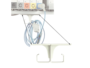 Patient cable organizer (hook) ECG patient cable accessories Miscellaneous