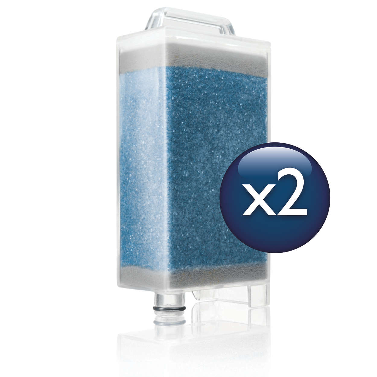 Anti-calc cartridges for all WardrobeCare models