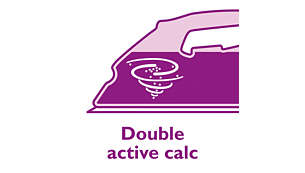 Calc Clean helpt kalkaanslag in uw strijkijzer te voorkomen