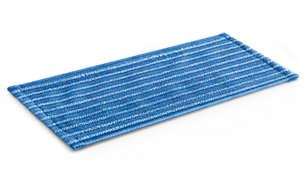 2 个柔软微纤维清洁软垫,专为精美地板设计