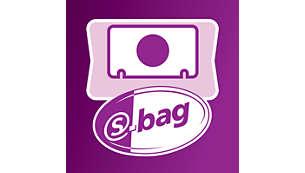 s-bag Classic s dugim trajanjem zahvaća i finu prašinu