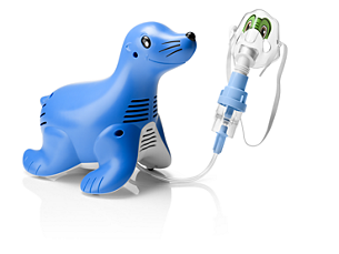 Sami the Seal Sistema nebulizador con compresor