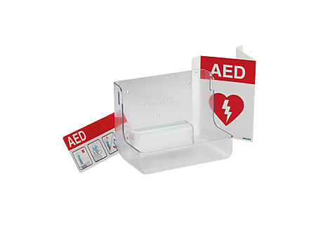 AED Wall Mount and Signage Bundle Accessories