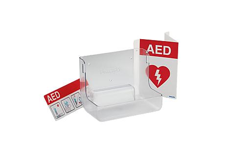 AED-Wandhalterung und -Schilderpaket Zubehör