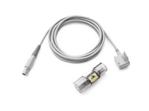 Trilogy Adult/Pediatric External Flow Sensor with Cable