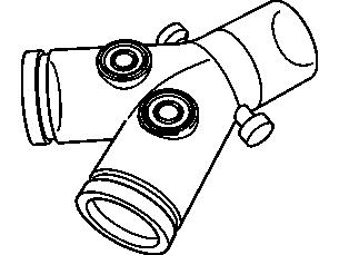 Esprit/V200 wiederverwendbares Y-Stück Zubehör