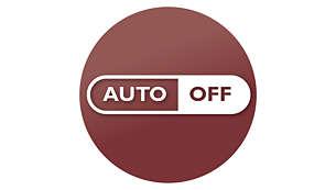 Arrêt automatique immédiat après la préparation, pour économiser l'énergie