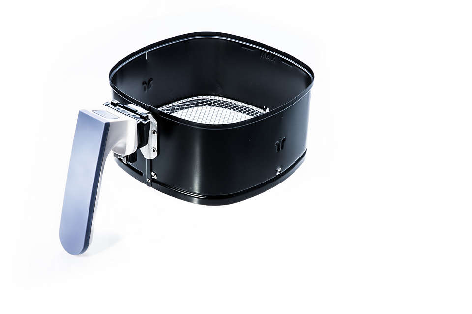 Replaces your current Airfryer QuickClean Basket