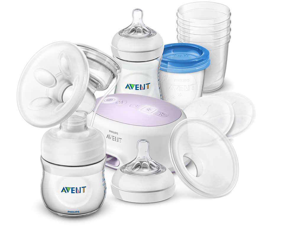 Meer comfort en meer melk.* Afkolven, bewaren en voeden
