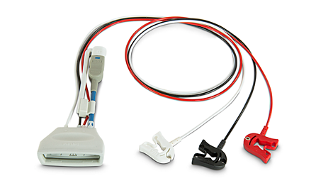Patient Cable ECG 3 lead Grabber Telemetry Lead Set