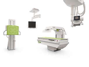 ProxiDiagnost N90 Radiografía digital DRF y fluoroscopía cercana