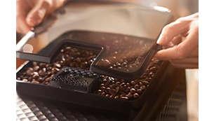 El sello de aroma mantiene los granos frescos durante más tiempo