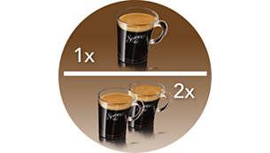 Uma xícara de café em 30 segundos