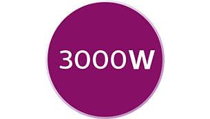 3000W pro rychlý ohřev amimořádný výkon