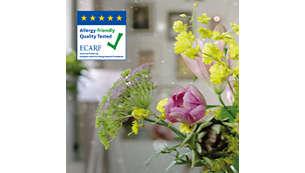 Allergikerfreundlich mit Zertifizierung