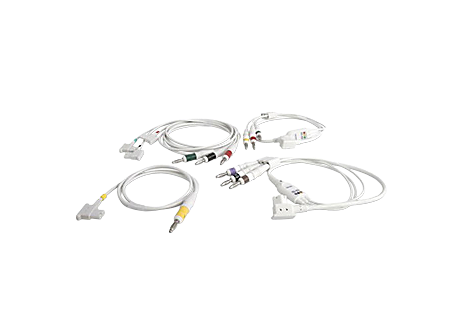 Complete lead set Diagnostic ECG Patient Cables and Leads
