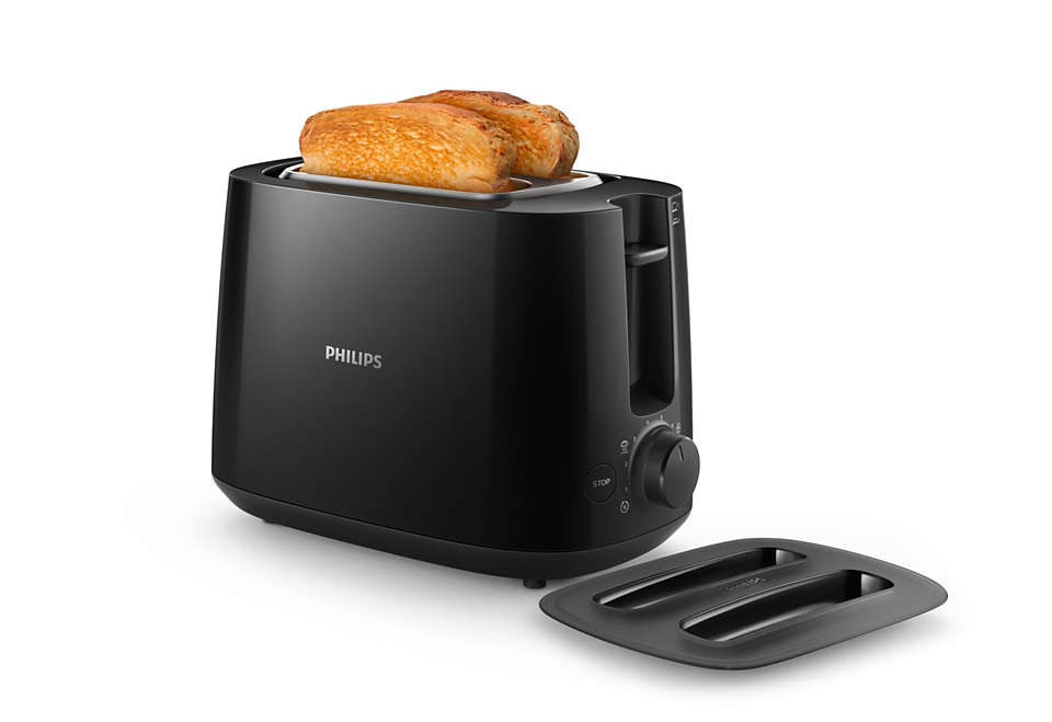 Crispy golden brown toast every day