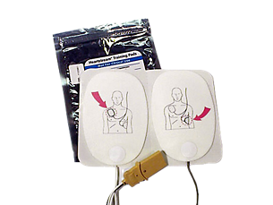 Defibrillator Training Pads: 1 set AED Training Materials