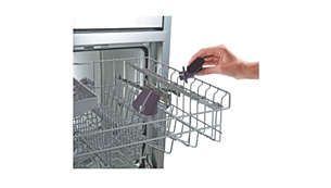 Detachable dishwasher-proof nozzle