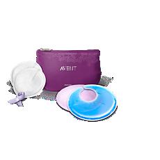 SCF257/01 Philips Avent Ensemble d'accessoires d'allaitement essentiels