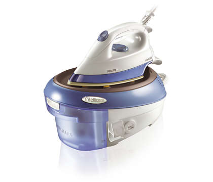 Powerful ironing with pressurized steam