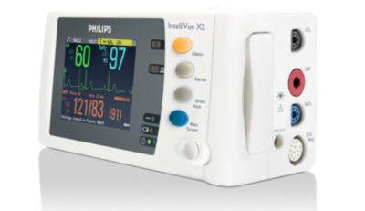 philips intellivue mms x2 measurement module and patient monitor rh usa philips com Philips IntelliVue Central Monitoring Station Philips IntelliVue MP20 Monitor