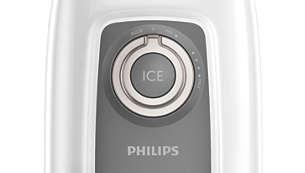 Ice crush button
