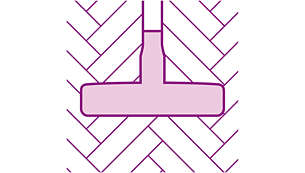 Usisna četka za parkete s mekim vlaknima za zaštitu od ogrebotina