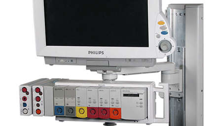 """IntelliVue MP60/70: VHC Variable Height Channel and 12"""" (300mm) Support Arm"""