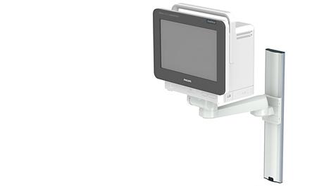Single pivot arm Mounting solution