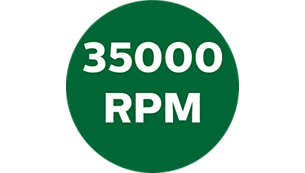 Up to 35000rpm